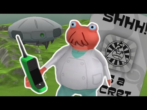 ILLUMINATI AND UFO ARE REAL!! The Amazing Frog (HOW TO GET IN UFO)