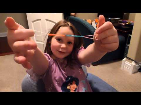 Rainbow Loom Bracelet Using Your Fingers Only