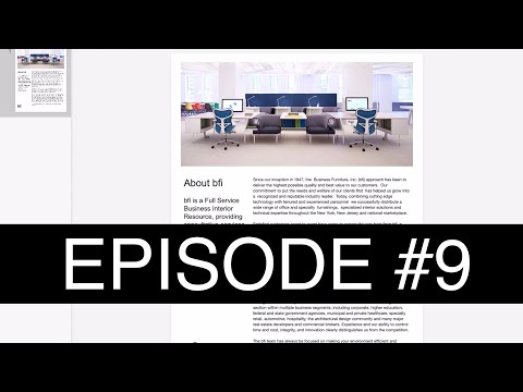 How to design a flyer on an iPad using Google Slides - Episode #9