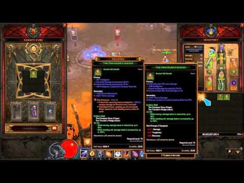 Diablo 3 : RoS - 60x Traveler's Pledge Reroll!