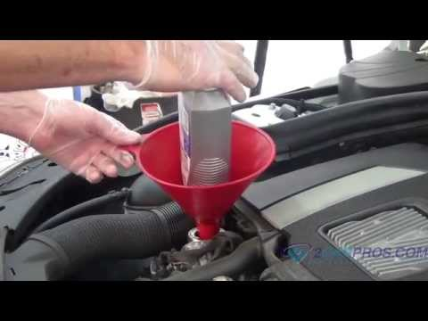 Oil Change & Filter Replacement 2008-2014 Mercedes-Benz C300 3.0L