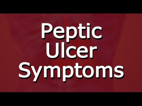 Peptic Ulcer Symptoms