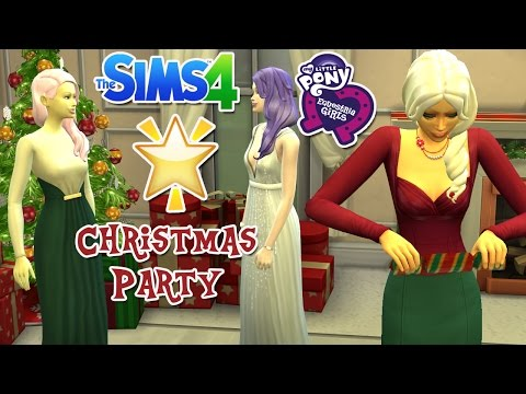 The Sims 4: My Little Pony Christmas Party Special