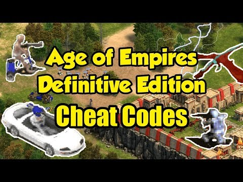 AoE Definitive Edition - Cheat Codes