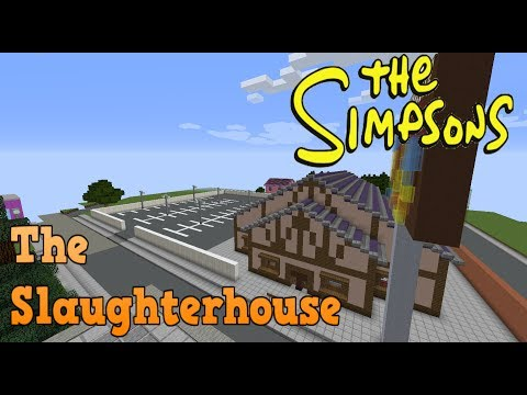 Minecraft Springfield SO4: The Slaughter House! (Restaurant)