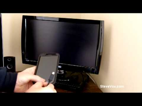 Connect The Samsung Galaxy Note 2 To A TV With a HDMI Cable