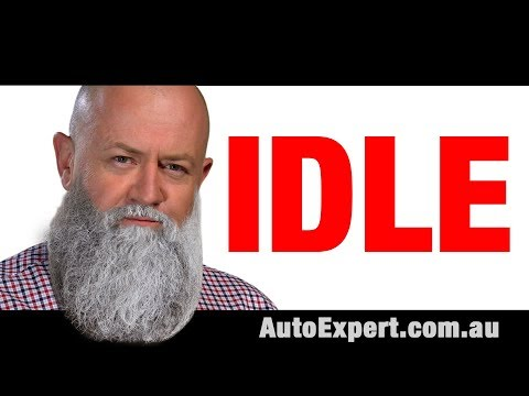 How much fuel does a car use at idle? (Warning: contains nuts.) | Auto Expert John Cadogan