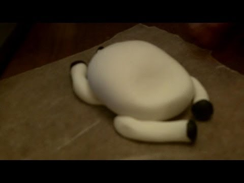 How to Make a Fondant Cow Part 1