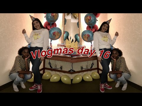 Work and birthday parties | VLOGMAS DAY 16