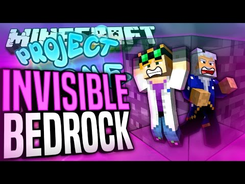 Minecraft - INVISIBLE BEDROCK - Project Ozone #129