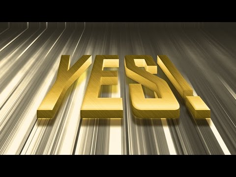 Create 3D Gold Text Effect in Photoshop
