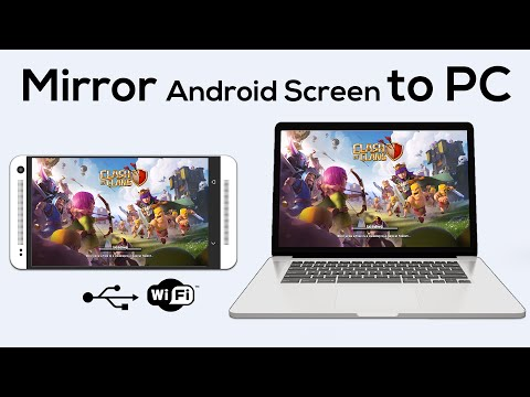 How to Mirror your Android Screen to PC | No Root | WiFi | USB