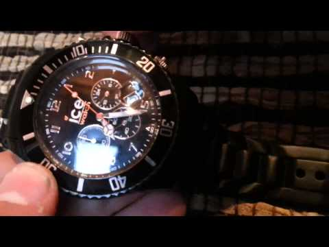 How To Change The Date And Time On An Ice Watch