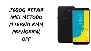 Samsung J6+ J6 Plus J610F J610FN J610G J610GN Network Unlock