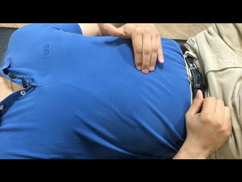 How to find and treat abdominal trigger points - how to self treat trigger point pains