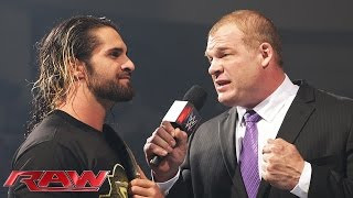The WWE Universe will decide Seth Rollins' fate: Raw, April 27, 2015