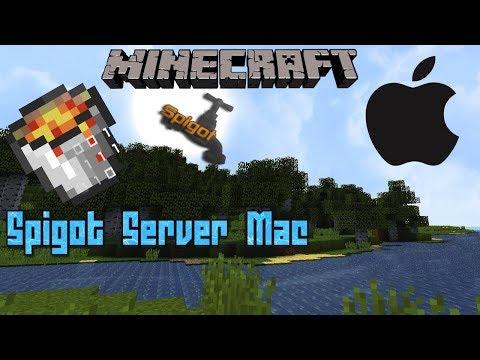 How to create a Minecraft Spigot Server on Mac OS