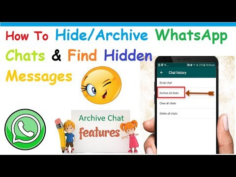How To Find Archived or Hidden Messages On WhatsApp [Latest]