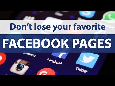 Keep getting Facebook pages — take back control!