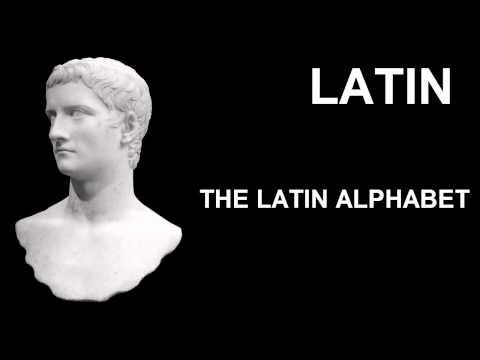 Learn Latin Online Lesson 1 Classical Latin Alphabet