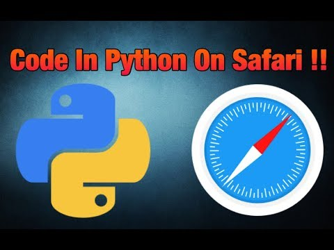 Code In Python On Safari - 2018