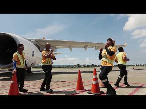 Cebu Pacific Running Man Challenge Compilation