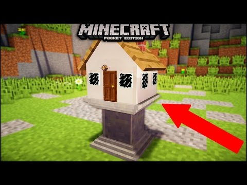 Use Command Block To Build the smallest house in minecraft pe | mcpe ( minecraft pe ) smallest hose