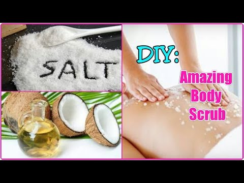 Amazing Homemade Body Scrub For Smooth & Glowing Skin|Home Remedy\COSMO GAL