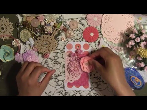 DIY Scrapbook Gift Tags - Handmade Crafty Gift Idea - Mother's Day - YennyStorytale