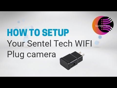 USB Plug WIFI Spy Camera Set up Tutorial