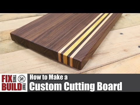 Custom Cutting Board from Scrap Wood | How to Make