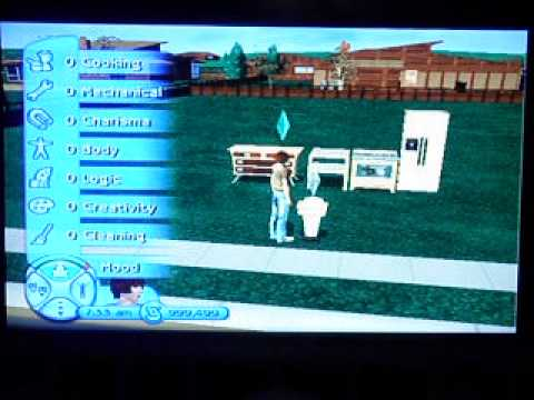 Sims 2 GameCube All Cheat Codes and What They Do!