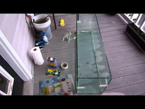 DIY Aquarium Project - Resealing a Fish Tank (Part 1)