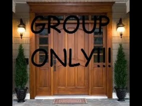 How To Make A Group Only Door In Roblox 2017