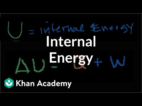 More on internal energy | Thermodynamics | Physics | Khan Academy