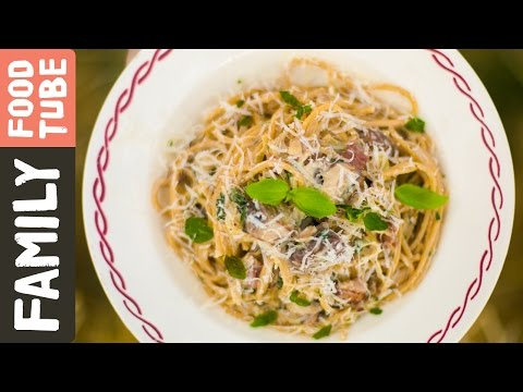 Chunky Spaghetti Carbonara | Maz McGarr & DJ BBQ