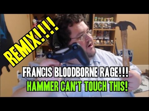 Hammer Can't Touch This! - FRANCIS REMIXED - ps4 controller smashed!