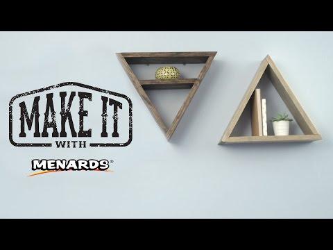 Geometric Shelving - Make It With Menards