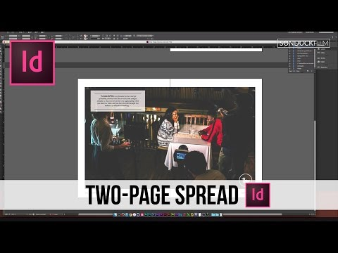 Indesign Tutorial: Two-Page Spread Design