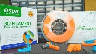 eSUN PLA+   -   Filament Review