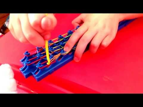 How to make a Waterfall bracelet with Crazy Loom