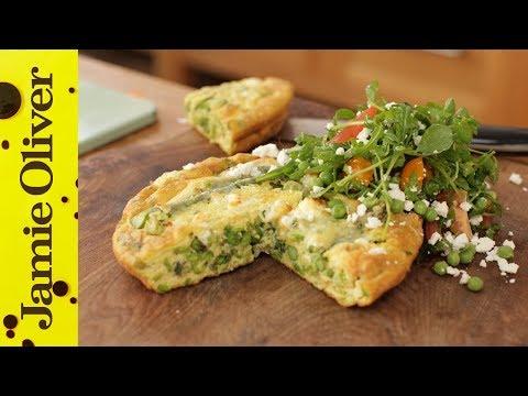 Summer 'Peasto' Frittata | Jamie Oliver