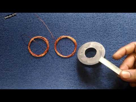 DIY Free Energy Electricity Generator using Magnet and Copper Coil Ideas | Energy Free