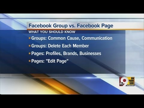Facebook Group vs. Facebook Page