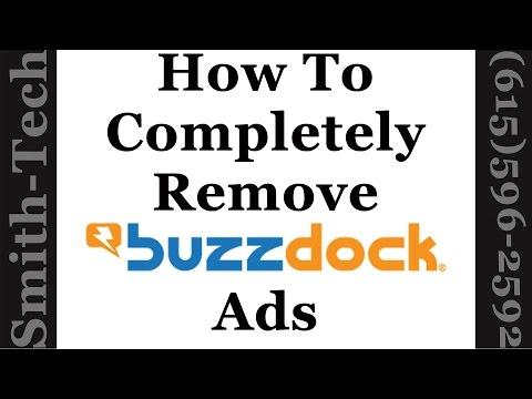 How To Completely Remove BuzzDock Ads From Your Web Browser