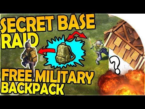 NEW SECRET RAID, FREE MILITARY BACKPACK + TONS OF COPPER - Last Day On Earth Survival 1.6.0 Update