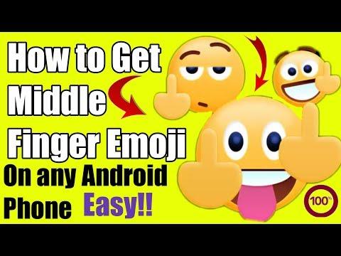 middle finger emoji||middle finger emoji android||middle finger emoticon