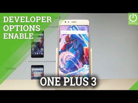 Developer Options OnePlus 3 - OEM Unlock / USB Debugging