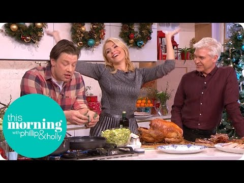Jamie Oliver's Brussels in a Hustle and Knife Sharpening Tips | This Morning