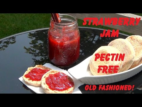 Strawberry Jam - No Pectin - How To Make & Preserve